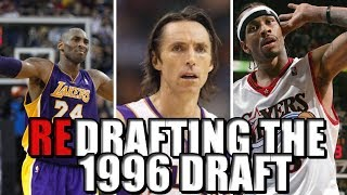 Redrafting the 1996 NBA Draft | Kobe Bryant to Philadelphia?