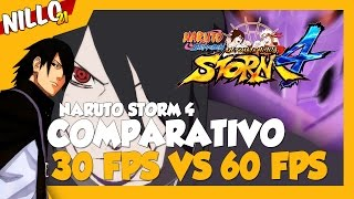 Naruto Ninja Storm 4, Comparativo 30 FPS VS 60 FPS/ Full HD 1080p 60 FPS - Nillo21.