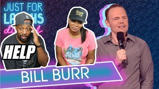 [ REACTION ] Bill Burr - Motherhood Isn't The Hardest Job‼ I GOT IN TROUBLE‼😁😬😬