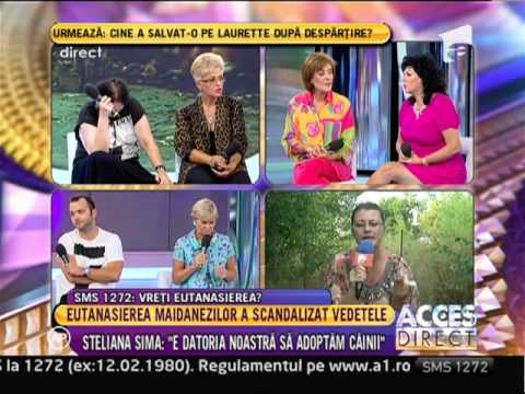 "Carmen Harra @ ""Acces Direct"" (Antena 1 Romania), 10 septembrie 2013"