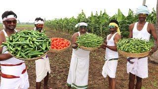 Lady Finger Masala Recipe | Bhindi Masala Curry |Country foods