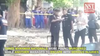 Triple murder rocks Prai