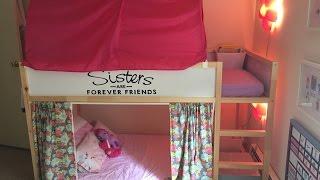 Ikea Girls Kura Bunk Beds Set Up
