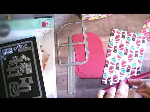 Sizzix Pocket TN Insert Process Video