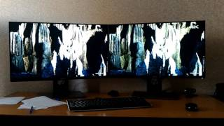 on the left dell up2716d on the right dell s2716dg version 2