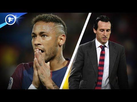 PSG : Neymar et Unai Emery au bord de la rupture | Revue de presse