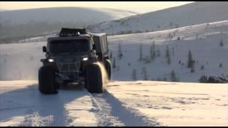 Снегоболотоход МАКАР Зима.