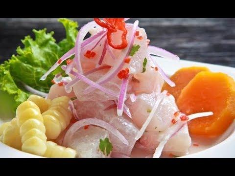 Cocina Peruana Cebiche De Pescado Que Rico Youtube