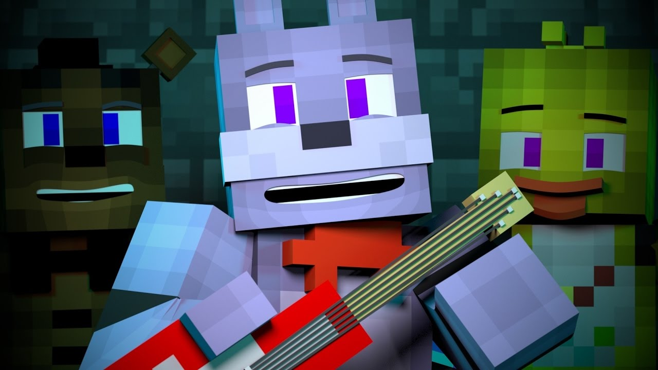 """Bonnie's Mixtape"" | FNAF Minecraft Music Video"
