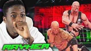 STONE COLD STEVE AUSTIN IS A MONSTER!! | WWE Mayhem #2