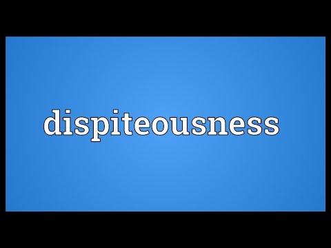Header of dispiteousness