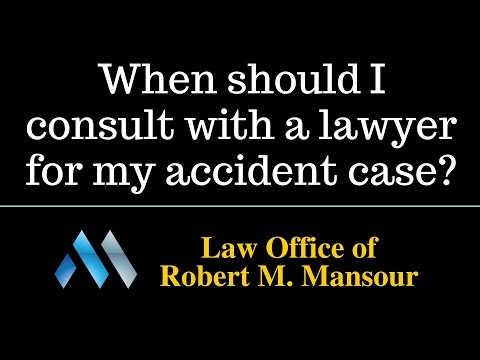 Valencia, CA accident attorney Robert Mansour discusses hiring attorneys