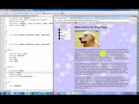 HTML And CSS Lesson