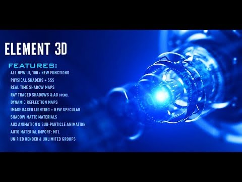 How To Install ELEMENT 3D Full Version In Adobe After Effects 2018