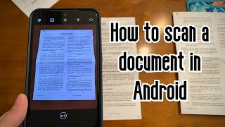 How to scan a document in Android screenshot 4