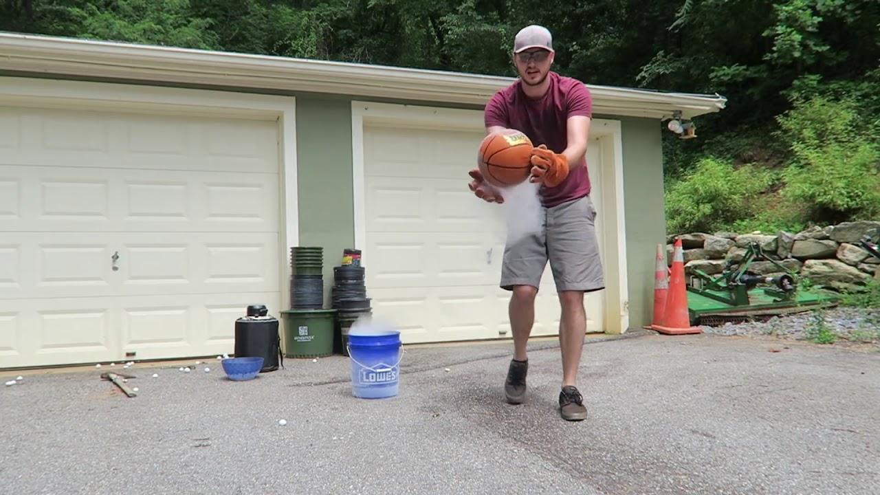 don u0027t put basketball in liquid nitrogen youtube