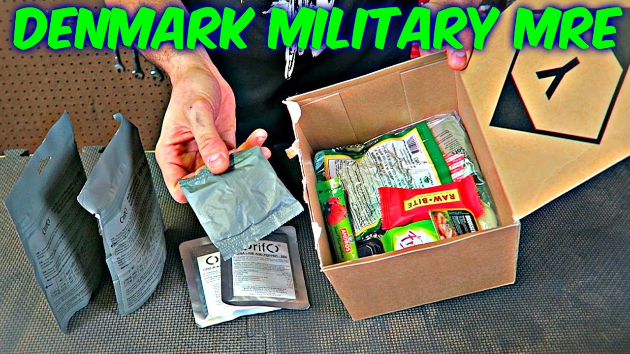 Tasting Denmark Military MRE (24 hour Ration Pack)