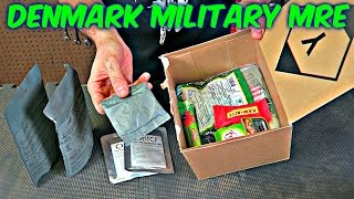 Tasting Denmark Military MRE (24 hour Ration ...