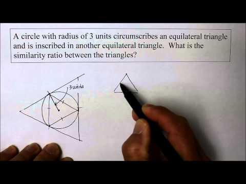 901 GE Triangle Circumscribes A Circle Circumscribing A Triangle