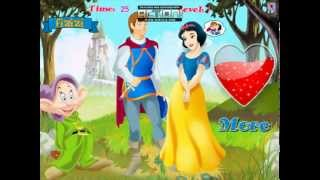 Snow White Love Story Kissing Game