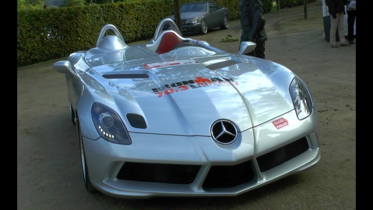 Mercedes Benz Slr Mclaren Stirling Moss Supercar Spotted Racedays