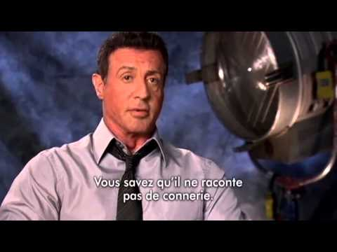 STALLONE  Interview - Bullet To The Head (2013)