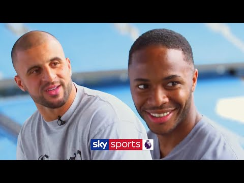Raheem Sterling and Kyle Walker argue over who is faster! | Man City Higher or Lower Quiz