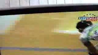 2001 track racing keirin final crash world championship