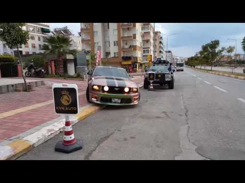 Ford mustang 4.6gt Türkiye Antalya Ses Sound Exhaust