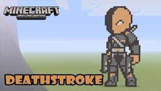 Minecraft: Pixel Art Tutorial and Showcase: DEATHSTROKE