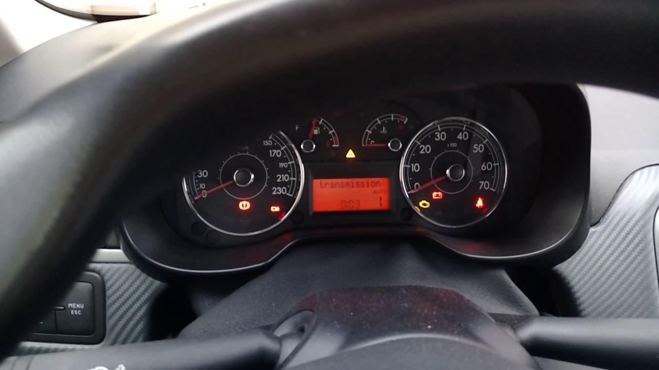Fiat Grande Punto 1 4 77Hp Check transmission