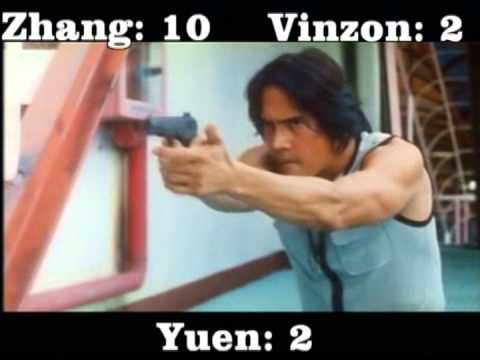 The Hunted Hunter (1997) Yuen Biao, Zhang Feng-Yi & Roi Vinzon killcount