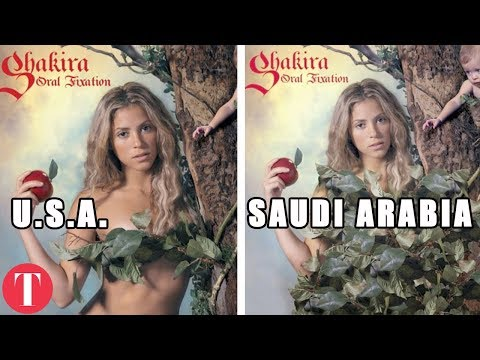 10 Album Covers That Are Different In Other Countries