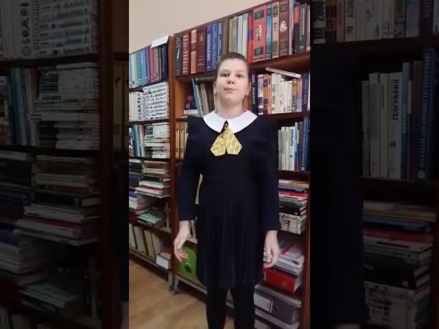 Изображение предпросмотра прочтения – ПолинаОкунева читает произведение «Родина» К.М.Симонова