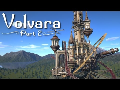 Planet Coaster - Volvara (Part 2) - Towers & Telescopes