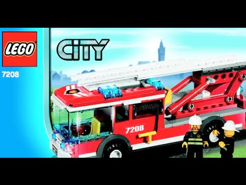 How To Build Lego City Fire Station Lego 7208 Instructions Youtube