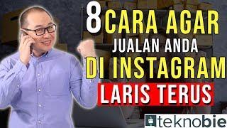 8 Cara Agar Jualan online shop Anda Di Instagram Laris Terus