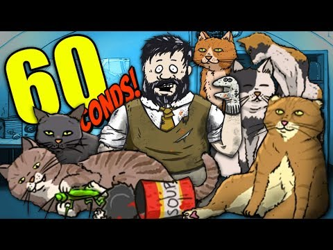 THE CATS ARE TAKING OVER  60 Seconds CATomic Adventure DLC Cat Ending