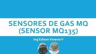 sensor de gas y aire MQ135 con arduino