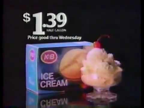 1989 k b drug store commercial ice cream youtube. Black Bedroom Furniture Sets. Home Design Ideas