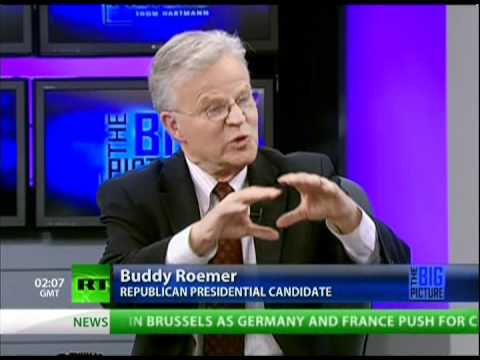 Hartmann discovers Gov. Buddy Roemer's conservative worldview