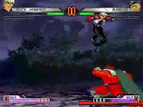 RadiantMUGEN Special- Rock Howard vs. Final Bison