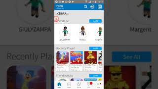 How to submit the friend request on roblox