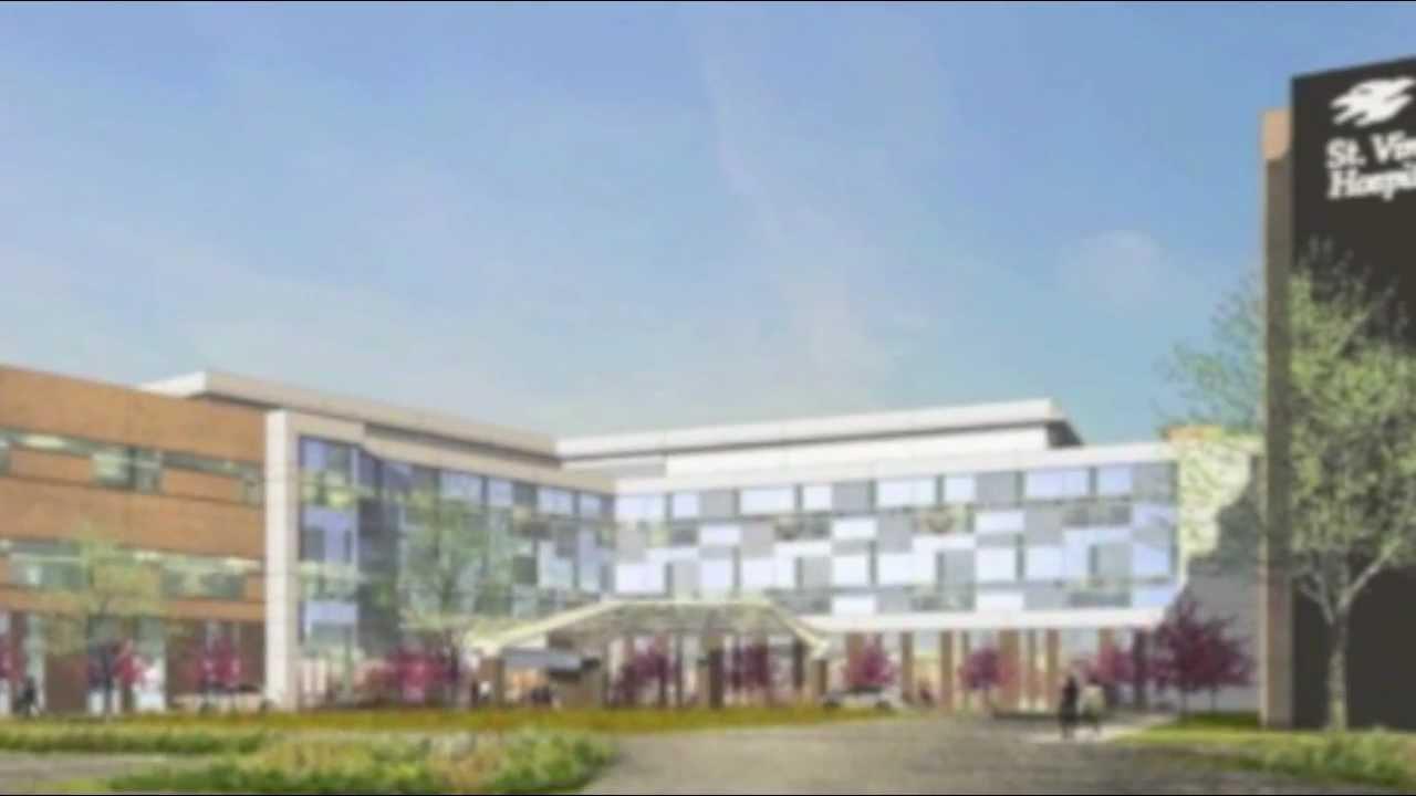 Take a Hard-Hat Tour of St Vincent Medical Center Northeast's Expansion