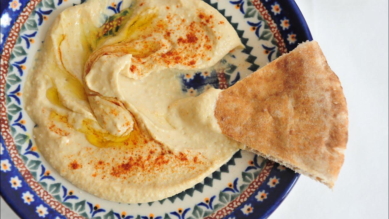 Best Hummus Recipe Israeli Persian Pita - YouTube