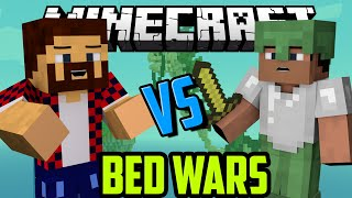 - ГОЛЫМИ РУКАМИ Minecraft Bed Wars Mini Game