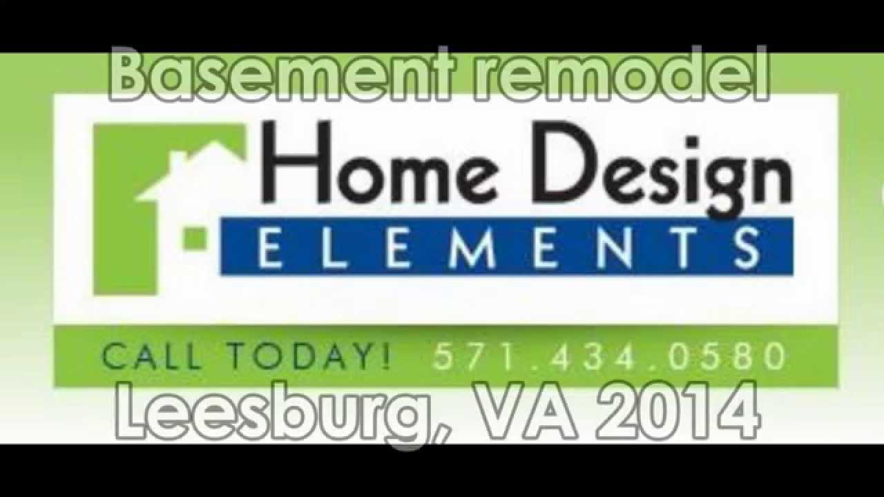 Home Design Elements Before And After Basement Finish Leesburg, VA
