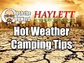 Hot Weather Camping Tips with Josh the RV Nerd