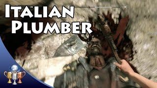 Dying Light  - Italian Plumber - Kill an enemy with a wrench, using Vault followed by Drop Attack