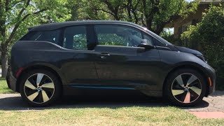 BMW i3 EV - (Decker Canyon Rd) One Take